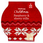 Waitrose Raspberry & Sherry Trifle - 900g