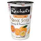 Rachel's Greek Style Orange & Passionfruit - 450g