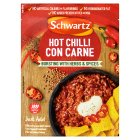 Schwartz hot chilli con carne mix - 41g Brand Price Match - Checked Tesco.com 04/12/2013