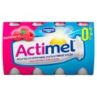 Actimel 0% fat raspberry - 8x100g
