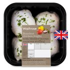 Waitrose British boneless chicken thighs with Mediterranean couscous stuffing - 501g