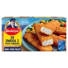 Birds Eye omega 3 fish fingers - 840g