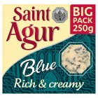 Saint Agur rich & creamy blue big pack - 250g