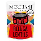 Merchant Gourmet black beluga lentils - 250g Brand Price Match - Checked Tesco.com 23/04/2014