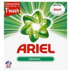 Ariel Actilift Bio Washing Powder 22 Washes - 1430g Brand Price Match - Checked Tesco.com 24/08/2016