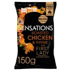 Walkers Sensations roasted chicken & thyme sharing crisps - 175g