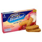 McVitie's Breakfast yogurt sandwich raspberry & yogurt - 253g Brand Price Match - Checked Tesco.com 21/04/2014