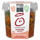 Innocent veg pot masala