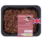 Waitrose British beef soy and ginger stir fry steak - 300g
