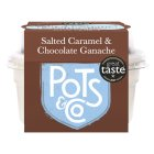Pots & Co salted caramel & chocolate pot - 100g Brand Price Match - Checked Tesco.com 10/02/2016