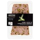 Heston from Waitrose pork,duck & cornichon terrine - 120g