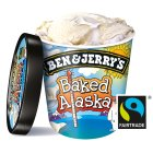 Ben & Jerry's baked alaska ice cream