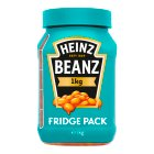 Heinz Baked Beanz Fridge Pack - 1kg Brand Price Match - Checked Tesco.com 26/08/2015