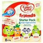 Cow & Gate friends starter pack - 4x50g Brand Price Match - Checked Tesco.com 29/09/2015