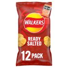 Walkers ready salted multipack crisps - 12x25g Brand Price Match - Checked Tesco.com 16/07/2014