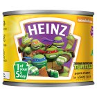 Heinz teenage mutant ninja turtles pasta shapes - 205g Brand Price Match - Checked Tesco.com 02/03/2015