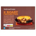 Waitrose frozen roast chicken pies - 440g