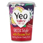 Yeo Valley Greek style yogurt passion fruit - 450g