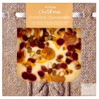 Waitrose jewelled fruit and nut cheesecake - 980g