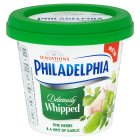 Philadelphia Whipped Herbs & Garlic - 140g Brand Price Match - Checked Tesco.com 20/07/2016