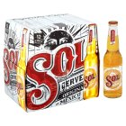 Sol imported beer - 12x330ml Brand Price Match - Checked Tesco.com 17/12/2014