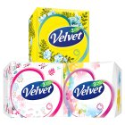 Velvet compact 3 ply tissues - 46 sheets