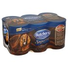 Butcher's superior real meat in gravy medley - 6x400g Brand Price Match - Checked Tesco.com 16/04/2014