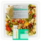 Waitrose World Deli Vegetable, Grains & Pomegranate - 185g