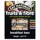 Eat Natural fruits & fibre coconut breakfast bars - 4x40g
