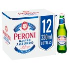 Peroni Nastro Azzurro 12 x 330ml Bottles - 12x33cl Brand Price Match - Checked Tesco.com 20/10/2014