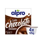 Alpro Soya dark chocolate flavoured dessert - 4x125g Brand Price Match - Checked Tesco.com 16/04/2014