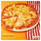 Waitrose Frozen cheese feast pizza - 495g