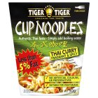 Tiger Tiger cup noodles Thai curry