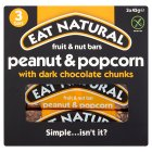 Eat Natural peanut & popcorn with dark chocolate - 3x45g