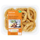 Waitrose Calamari Lightly Dusted with Pepper - 200g