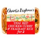 Charlie Bigham's Thai Red Chicken Curry Fragrant Rice - 835g