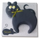 Black Cat Cake - each