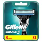 Gillette Mach 3 Manual Razor Blades 8 count - 8s