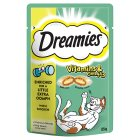 Dreamies+ vitamins & omega 3 with chicken - 55g New Line