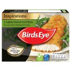 Birds Eye lightly dusted cod fillets sea salt & rosemary - 225g