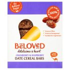 Beloved Cranberry Blueberry Date Cereal Bars - 4x35g