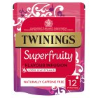 Twinings 12 super fruity loose leaf pyramids - 36g