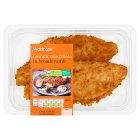 Waitrose 2 lemon sole fillets in breadcrumbs - 290g