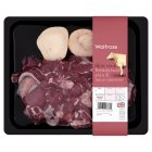 Waitrose British beef shin & bone marrow - 450g