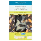Waitrose Scottish Mussels in White Wine and Cream - 2x250g