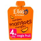 Ella's Kitchen Organic first tastes mangoes mangoes mangoes baby food - 70g Brand Price Match - Checked Tesco.com 09/07/2014