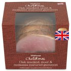 Waitrose Oak smoked molasses gammon - per kg