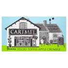 Cartmel sticky toffee apple crumble - 500g