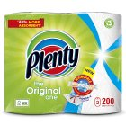 Plenty White Kitchen Roll 200 Sheets - 2s