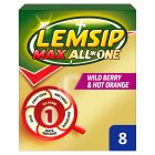 Lemsip Max All in 1 Wild Berry - 8s
